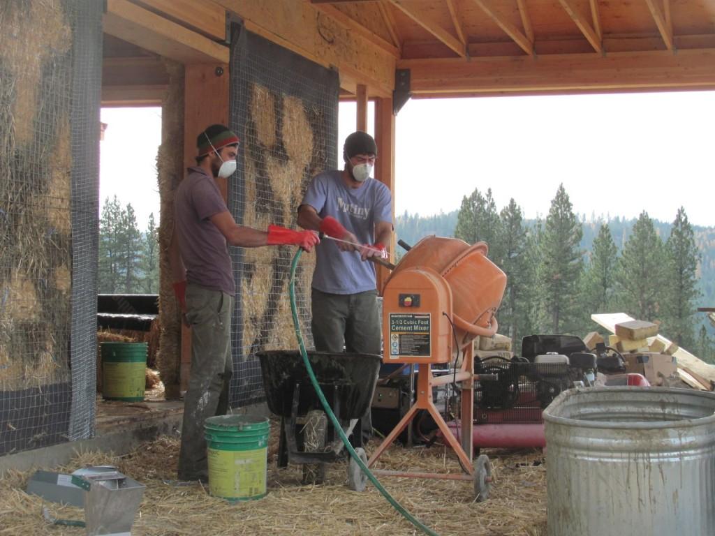 Mixing Exterior Stucco