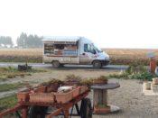 Baquette truck in rural Lorraine
